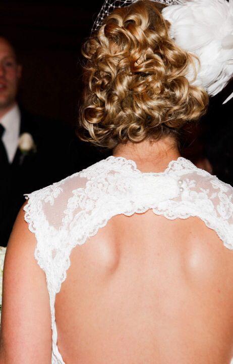 Wedding Hair by Liz Abrams of Invidia Salon in Michigan