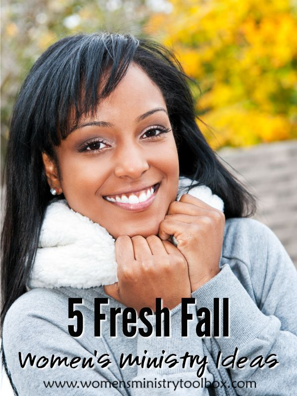Looking for some fresh fall women's ministry ideas? Check out these 5 great ideas I've gathered for you!