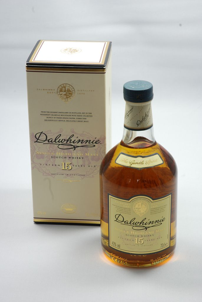 Dalwhinnie 15 - Whiskyglas Whisky-Blog