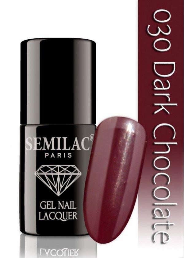 Semilac 030 Dark Chocolate UV&LED Nagellack. Auch ohne Nagelstudio bis zu 3 WOCHEN perfekte Nägel!