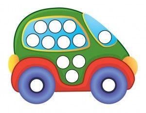 transportation printables do a dot