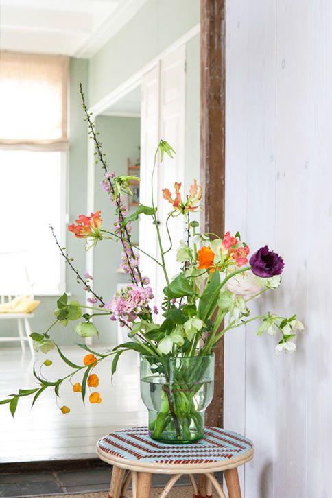 voorjaars-en zomerbloemen