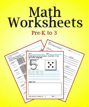 945 practice Math Worksheets for kids! There's no easier way to teach the Math facts. There are free samples all over the website.