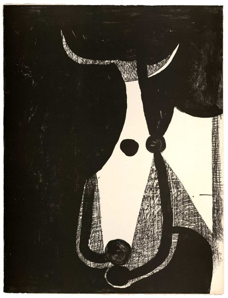 a different drawing of the head of a bull by Pablo Picasso