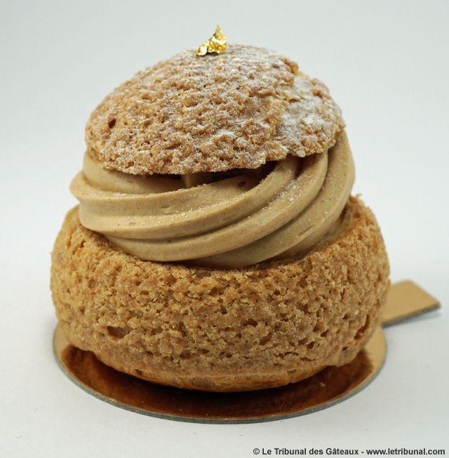 Le chou-chou caramel beurre demi-sel de Gateaux Thoumieux http://www.gateauxthoumieux.com/