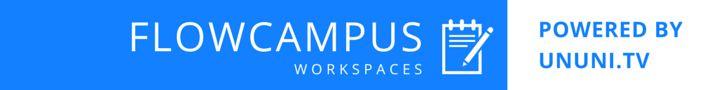 Werbebanner für den FlowCampus: http://ununi.tv/de/flowcampus
