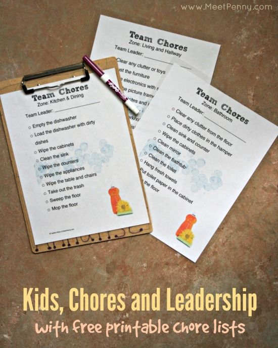 Teach children about leadership and teamwork by using chores with Finish Quantum  Includes free printable chore charts   SparklySavings  CollectiveBias  shop