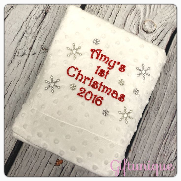 29 best Personalised baby blankets gifts images on ...