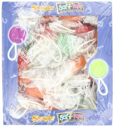 TOPSELLER! Saf-T-Pops 100 ct box - assorted flavors $8.40