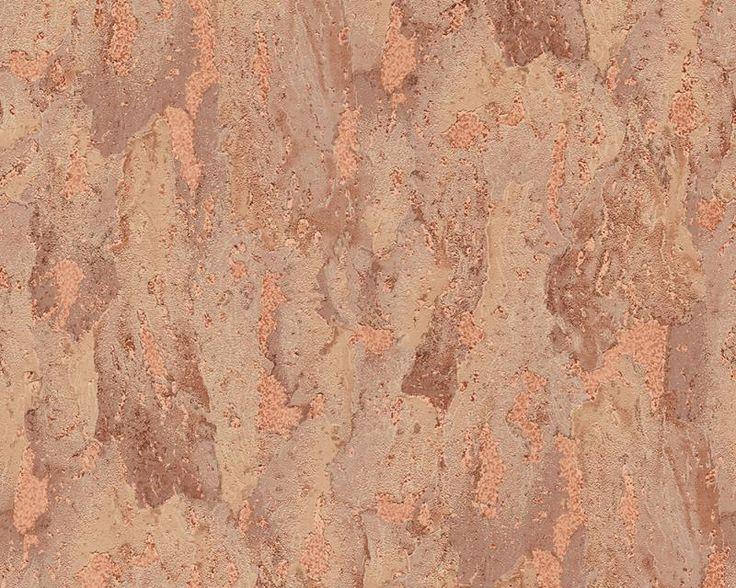 A.S. Création | 6622-17 tapety na zeď Dekora Natur 6  | 0,53 x 10,05 m | hnědá
