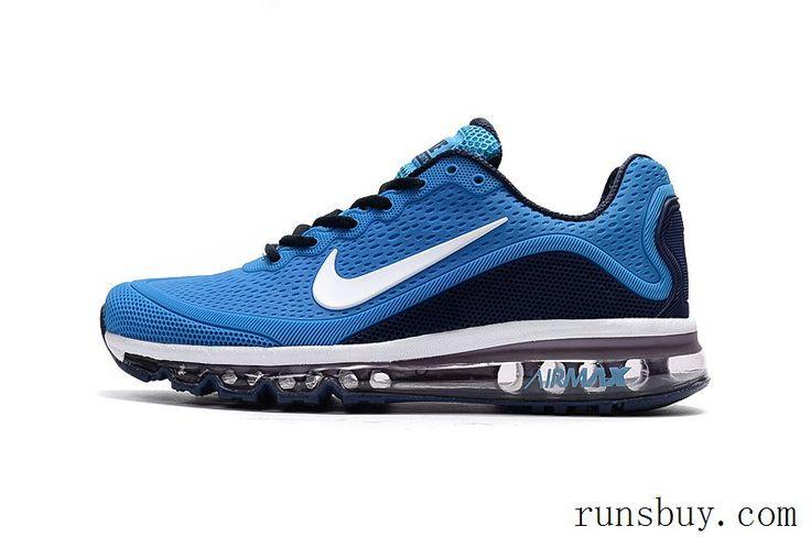 promo code 179e5 8f5db New Coming Nike Air Max 2017 5Max KPU Sea Blue Black For Men · Zapatos Para  Correr De HombresZapatillas ...