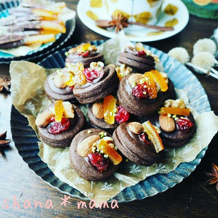 今年はこれで決まり♪マンディアン風チョコサンドクッキー♪