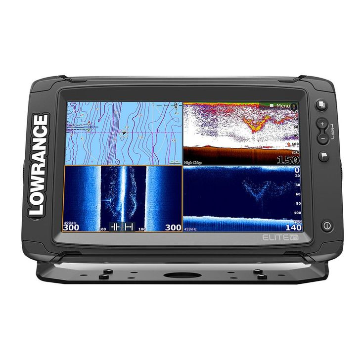 Lowrance Elite9 Ti Combo with Med/High/DownScan HDI