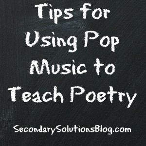 Pop Music Poetry
