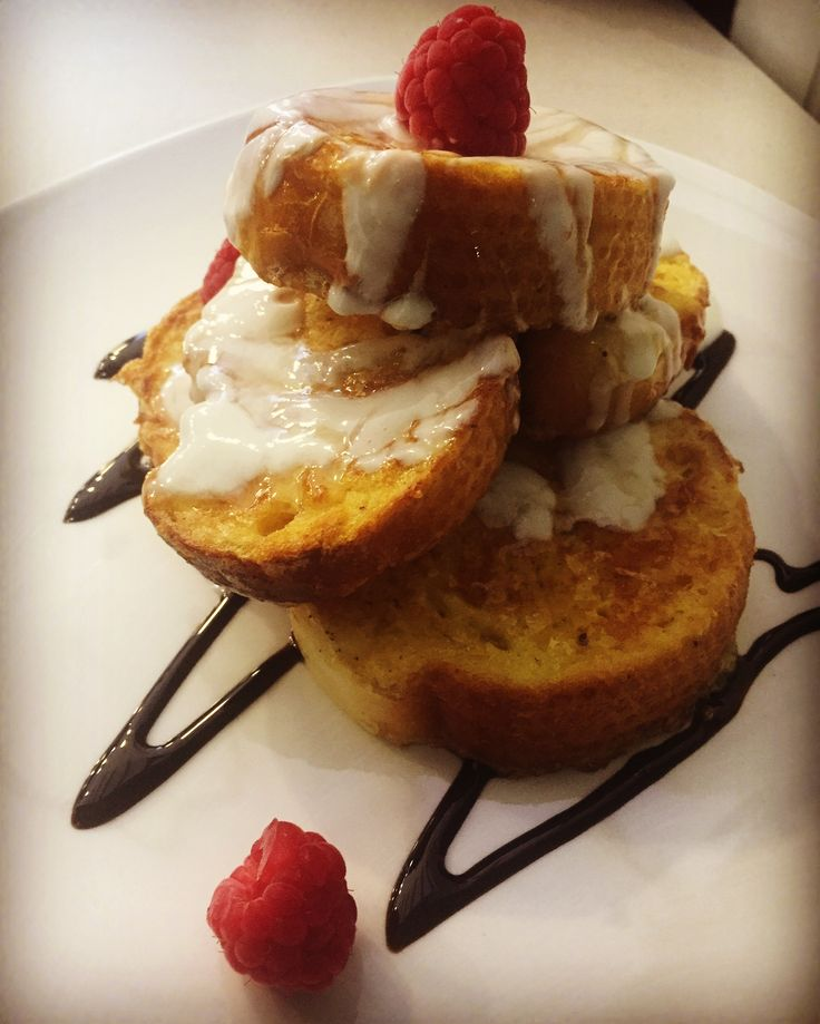 French toast with excellent Turkish bread. #galatabakery #braamfontein #johannesburg