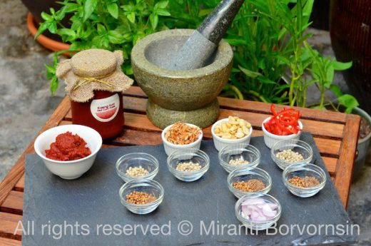 Authentic Advance Thai curry paste - make your own