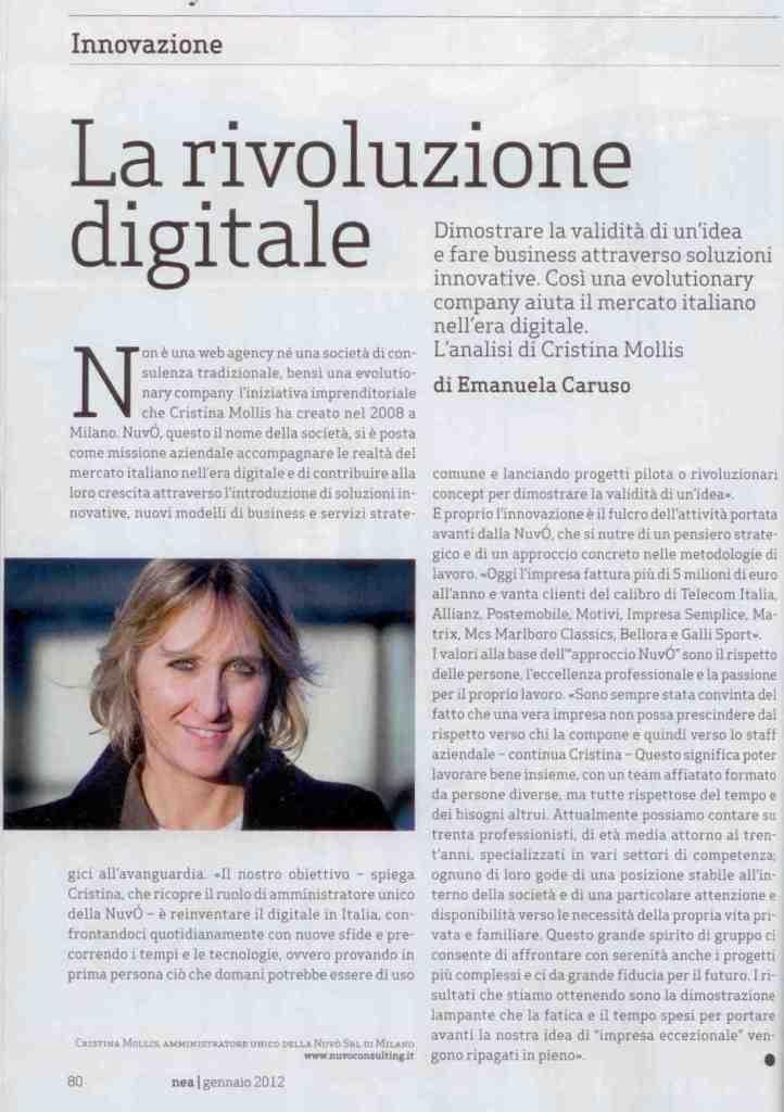 La rivoluzione digitale secondo Cristina!