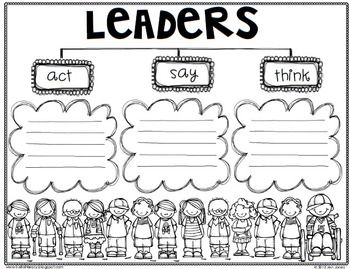 "Student Leadership ""Leaders ARE CAN HAVE & ACT SAY THINK"""