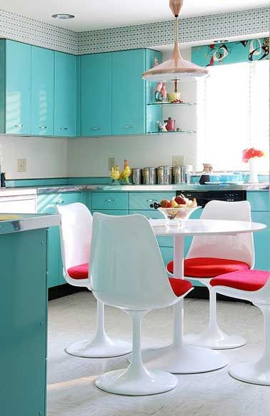 17 meilleures id es propos de repeindre les tables de - Repeindre ses meubles de cuisine en bois ...