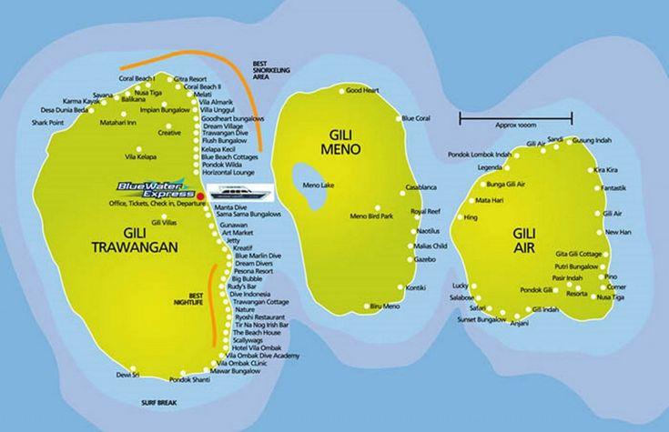 map gili