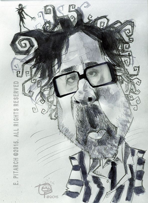 TIM BURTON. E. Pitarch © 2015. All rights reserved.