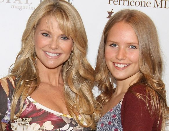Sailor Cook and Christie Brinkley