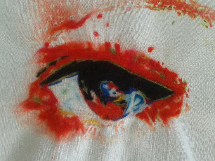 Oog van mijn dochter juni 2013 My daughter's eye- june 2013 Gea Andriessen facebook.com/degroeneuil
