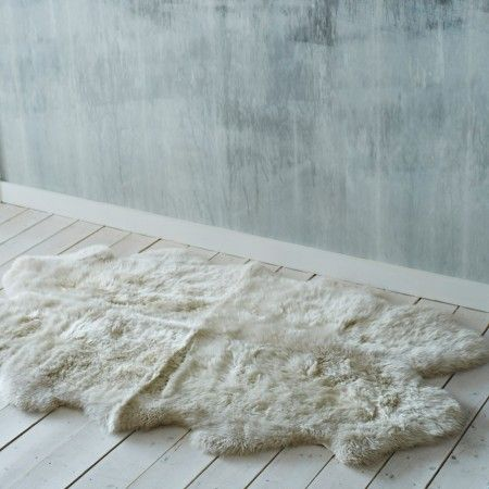 XL Quad Oyster Grey Sheepskin - Home Accessories - Shop By Category - New For Summer