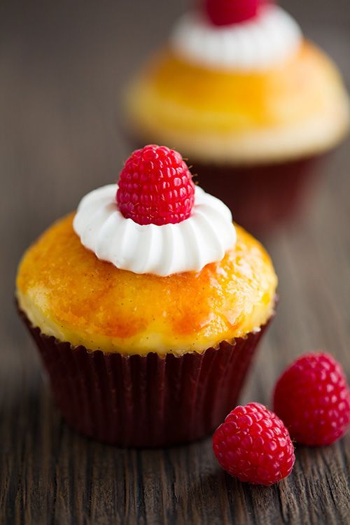 Sweet and Yummy | Creme Brulee Cupcakes