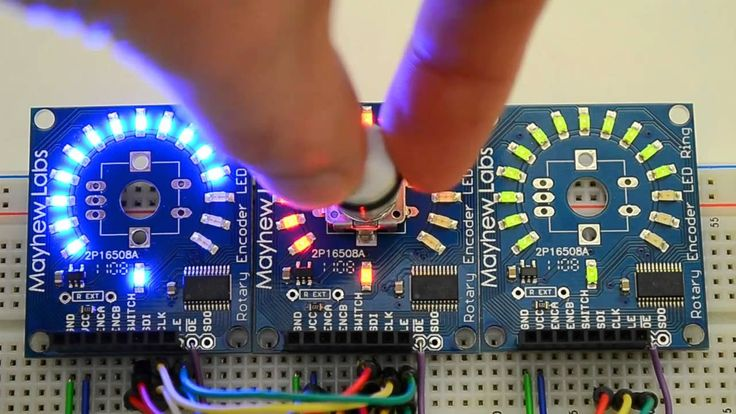 Rotary Encoder LED Ring Overview – YouTube