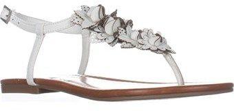 Jessica Simpson Kiandra Flat Thong Sandals, Powder.