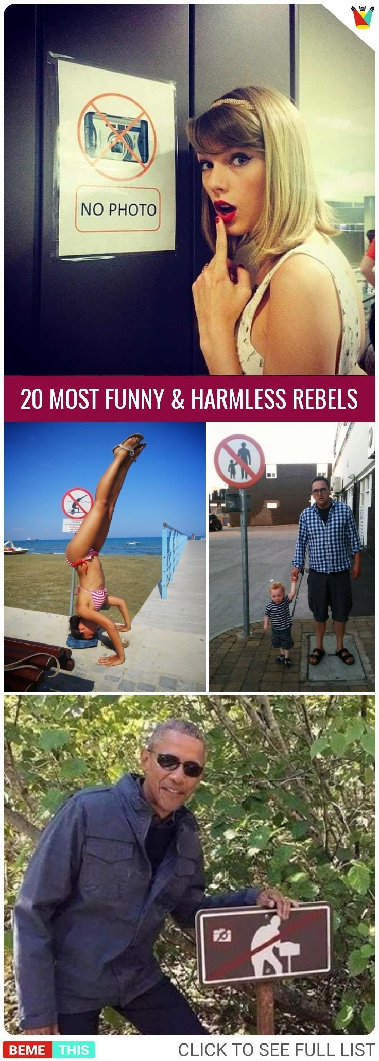 20 Rebels Who are Breaking the Rules in Hilarious Ways