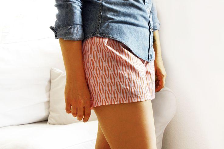 Sommer Shorts mit Schnittmuster                                                                                                                                                                                 Mehr