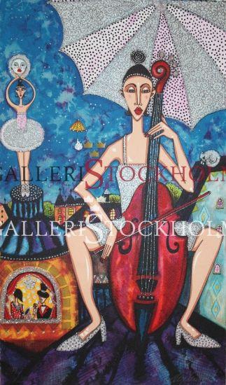 Angelica Wiik Måndans Litografi på GalleriStockholm.se #AngelicaWiik #Angelica #Wiik #Litografi #Litografier