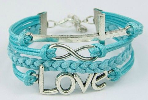 Free-Shipment-Handmade-Braided-Leather-Bracelet-Antique-Silver-Cross-Infinity-Charm-Bracelet-Love-Letter.jpg (482×327)