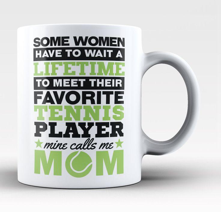Favorite Tennis Player - Mine Calls Me Mom - Mug