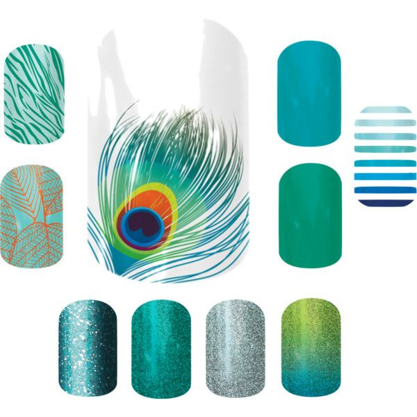 """""""Jamberry combos - Shake your tail feather"""" by andrearuelling on Polyvore"""