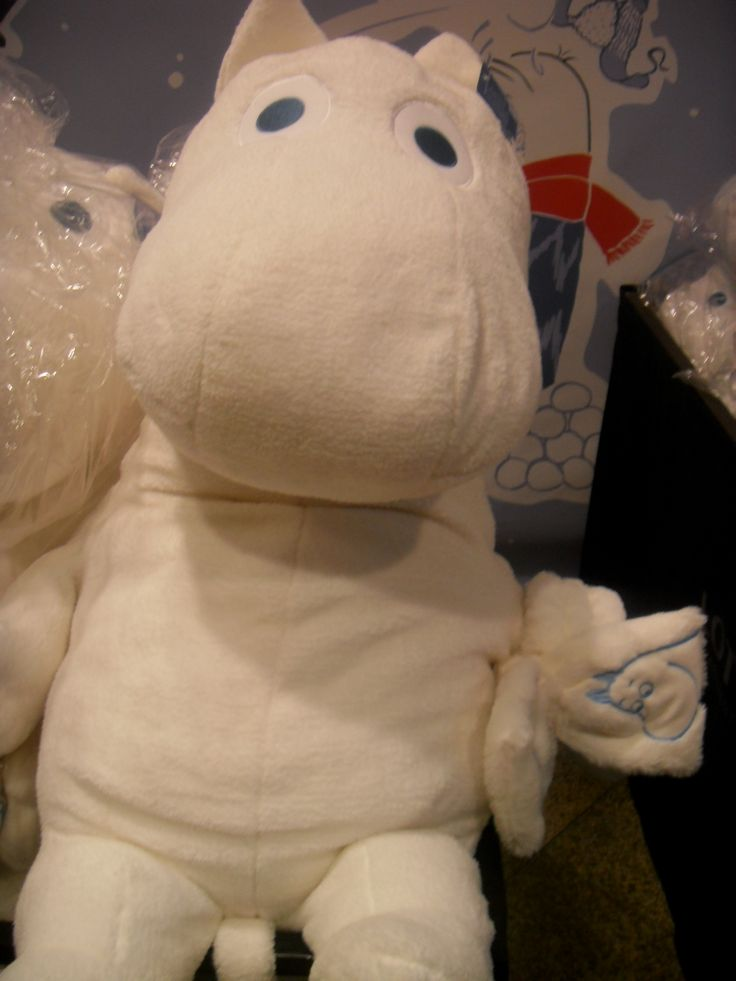 Lotte Department Store main branch Moomin popup store Moomin doll.