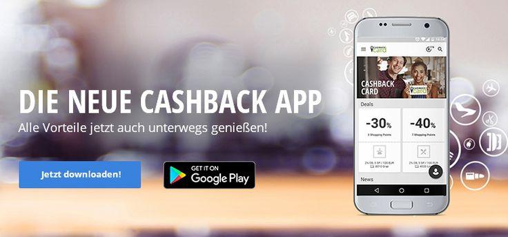 CASHBACK APP: Geld zurück bei jedem Einkauf!
