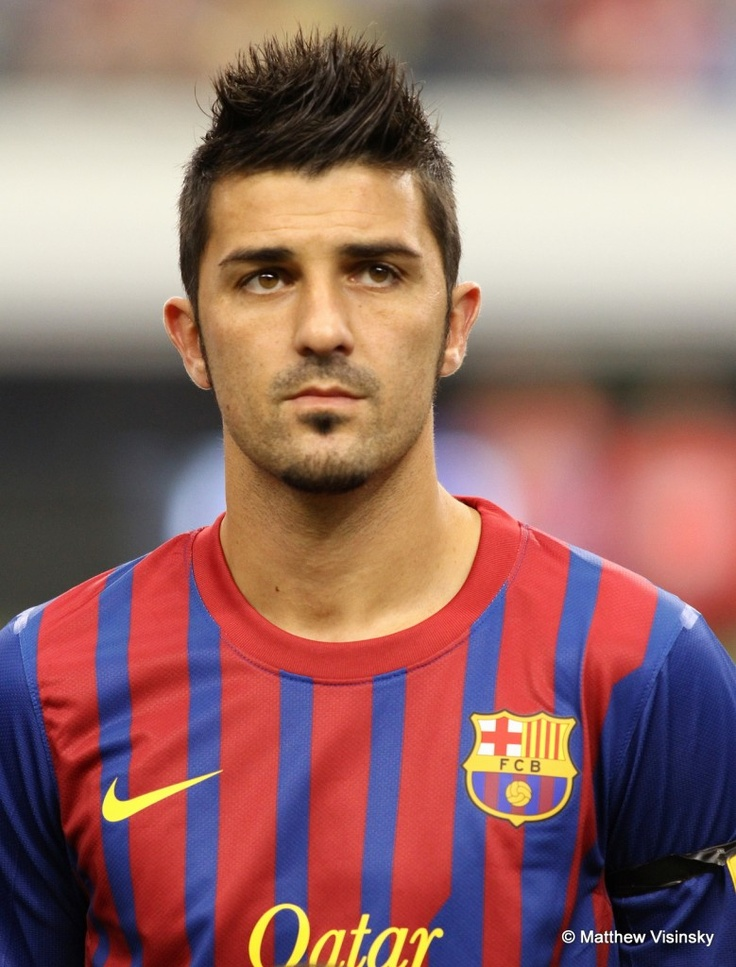 David Villa. Yes him & his speed. Opened my eyes during the World Cup, call me a bandwagon if you must (: