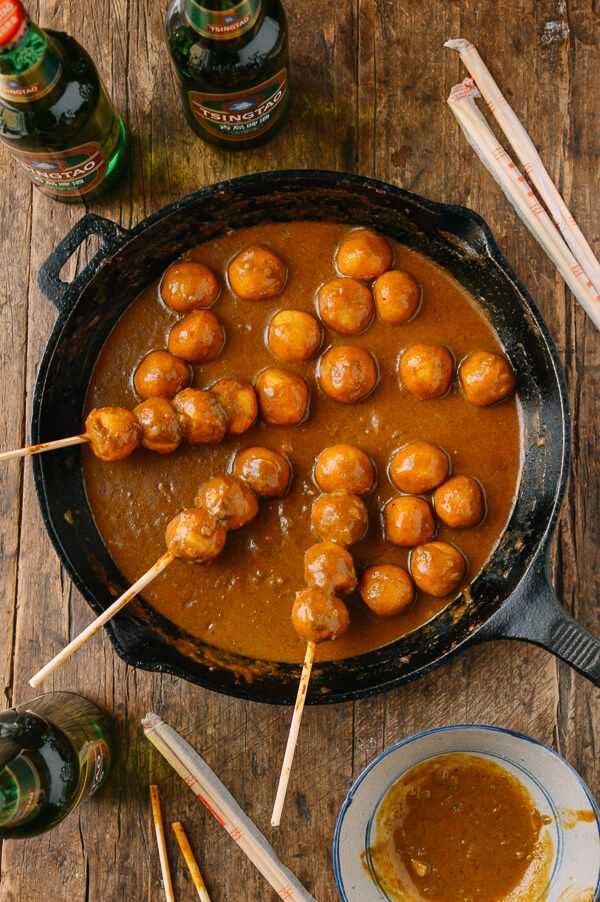 797 best images about chinese food on pinterest for Chinese fish balls