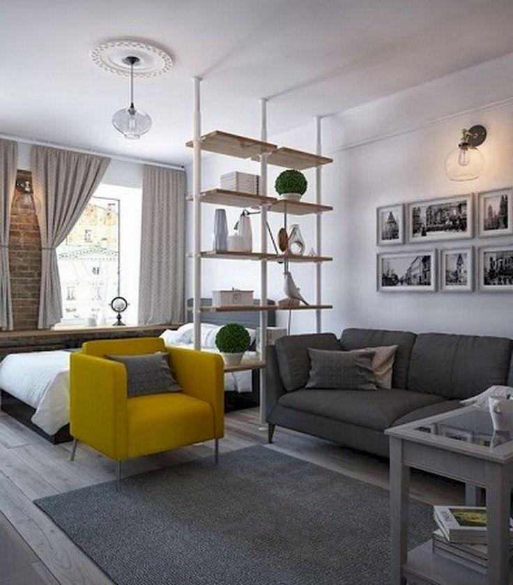 71+ Smart Cute Apartment Studio Decor Ideas
