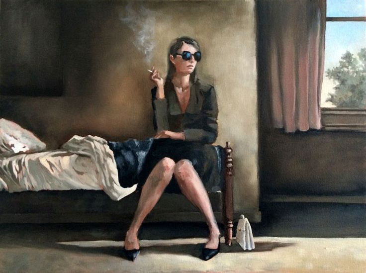 A Cigarette Before Leaving