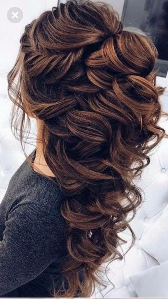 Perf Hochzeitstag Haare! 😍