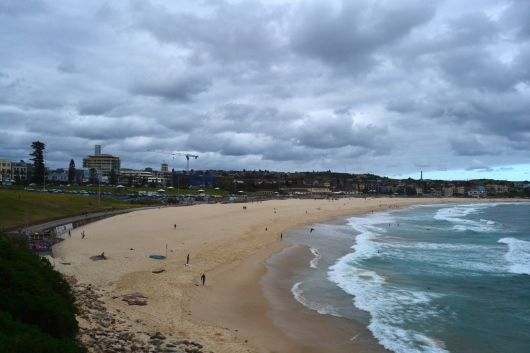 Bondi Beach on Winter Season, Sydney.