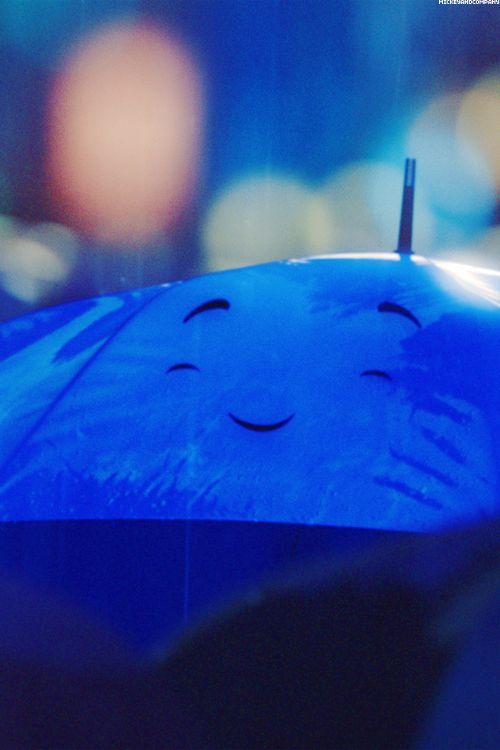 A The Blue Umbrella