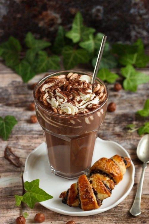 Mogyorós csokoládéital recept