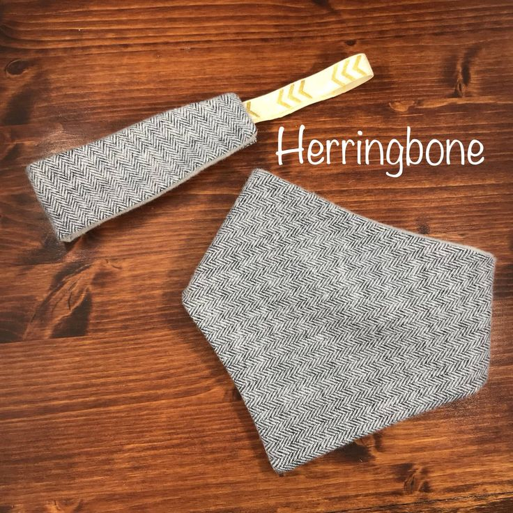 Excited to share the latest addition to my #etsy shop: Herringbone blue/grey dog bandana and matching owner headband