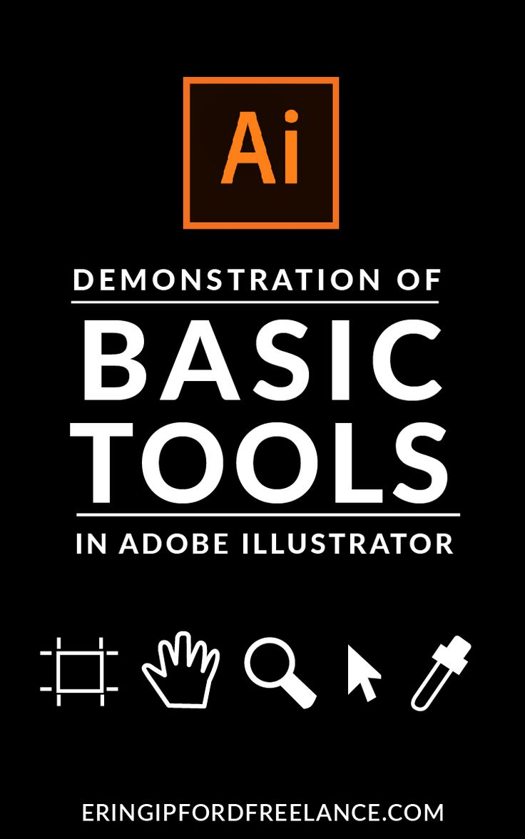 I know the toolbox can be SUPER overwhelming when you are first learning how to use Illustrator. That's why I'm going to weed out the unnecessary tools and show you exactly which ones you need to learn and get comfortable with first. Once you know the power these tools hold and how to unleash it you'll be creating vector masterpieces in no time.