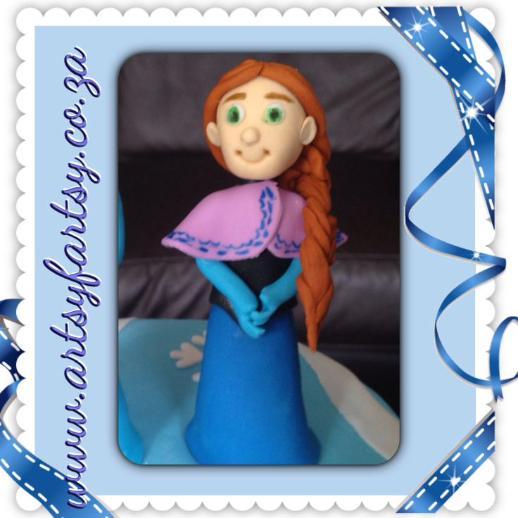 Anna from Frozen Sugar Figurines